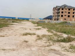 land for sale at TEMA COMMUNITY 25 NEWLY CLEARED HALF PLOT,RUSH FOR ROADSIDE LAND NOW.