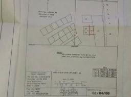 land for sale at Spintex close to main roadside(Comercial 2Plots walled)