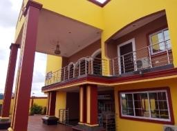 7 bedroom house for sale at North legon,palm avenue beside the charismatic church.